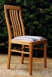 Lattice Chair. Contour Back