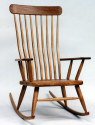 solid wood chairs mill furniture oak walnut cherry maple beech uk